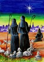 While Shepherds Watch Fine Art Print