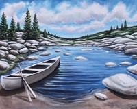 The Canoe Fine Art Print