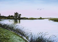 Delta at Dusk Fine Art Print