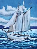 Let's Set Sail Fine Art Print