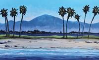Palm Tree Oasis Fine Art Print