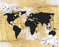 World Map II Fine Art Print