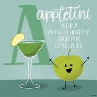 Appletini Fine Art Print