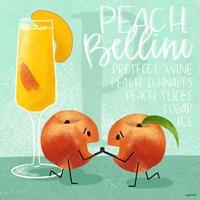 Peach Bellini Fine Art Print