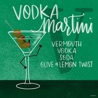 Vodka Martini Fine Art Print