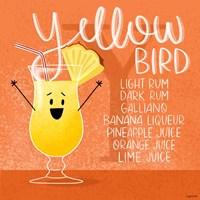 Yellow Bird Fine Art Print