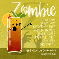 Zombie Fine Art Print