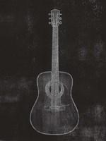 Old Guitar II Framed Print