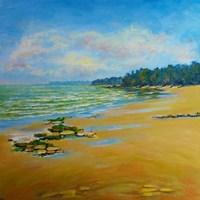 Sand Cove Bay Fine Art Print