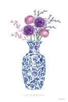 Chinoiserie Style II Fine Art Print