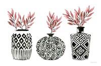 Geometric Vases I Fine Art Print