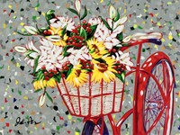 Bicycle Bouquet Fine Art Print