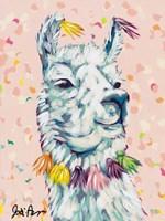 Drama Llama II Fine Art Print
