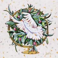 Globe Peace Framed Print