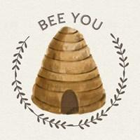 Bee Hive IV-Bee You Framed Print