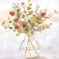 Eucalyptus Vase Spice II Framed Print