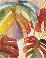 Tropic Botanicals III Framed Print