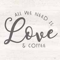 Coffee Kitchen Humor II-Love Fine Art Print
