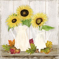 Fall Sunflowers IV Fine Art Print