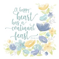 Kellys Garden VII-Happy Heart Fine Art Print