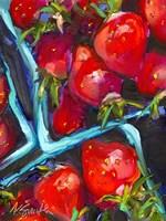 Strawberry Carton Fine Art Print