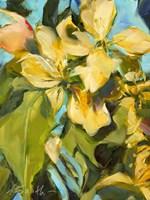Golden Floral Fine Art Print