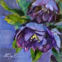 Purple Florals Fine Art Print