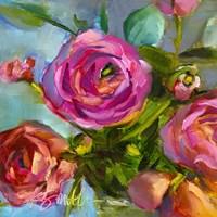 Roses Still Life III Fine Art Print