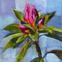Tropical Floral Watercolor Fine Art Print
