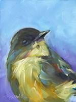 Perched Bird Fine Art Print