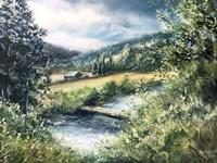 Dolores Ranch Painting Fine Art Print