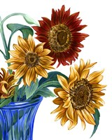 China Sunflowers I Fine Art Print