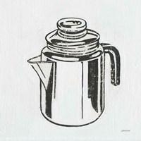 Retro Coffee Pot Fine Art Print