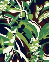 Olive Buds Brown Fine Art Print