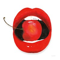 Cherry Lips Fine Art Print