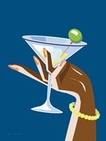 Cocktail Time I Framed Print