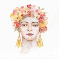 International Woman IV Framed Print