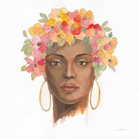 International Woman II Framed Print