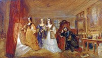 Lucy, Countess of Carlisle, and Dorothy Percys Visit to their Father Lord Percy, c1831 Fine Art Print