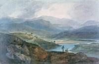 Lake, Scotland, 1801-1802 Fine Art Print