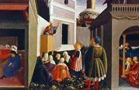 The Vocation of St Nicholas, 1437 Fine Art Print