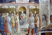The Judgement of St Laurence, Mid 15th Century Fine Art Print