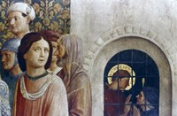 The Judgement of St Laurence (detail), Mid 15th Century Fine Art Print