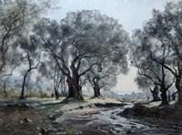 The Mountain Stream of Vallonet, 1892 Fine Art Print