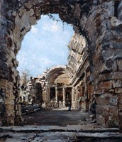 The Temple of Diana, 1890 Fine Art Print