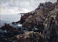 Headland of Raz, 1884 Fine Art Print