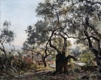 Lodola, close to Menton, 1892 Fine Art Print
