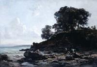 Laundrette at Low Tide, 1891 Fine Art Print