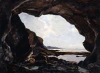 Grotto of Ris, Douarnenez, 1876 Fine Art Print