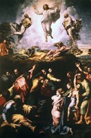 The Transfiguration, c1519-1520 Fine Art Print